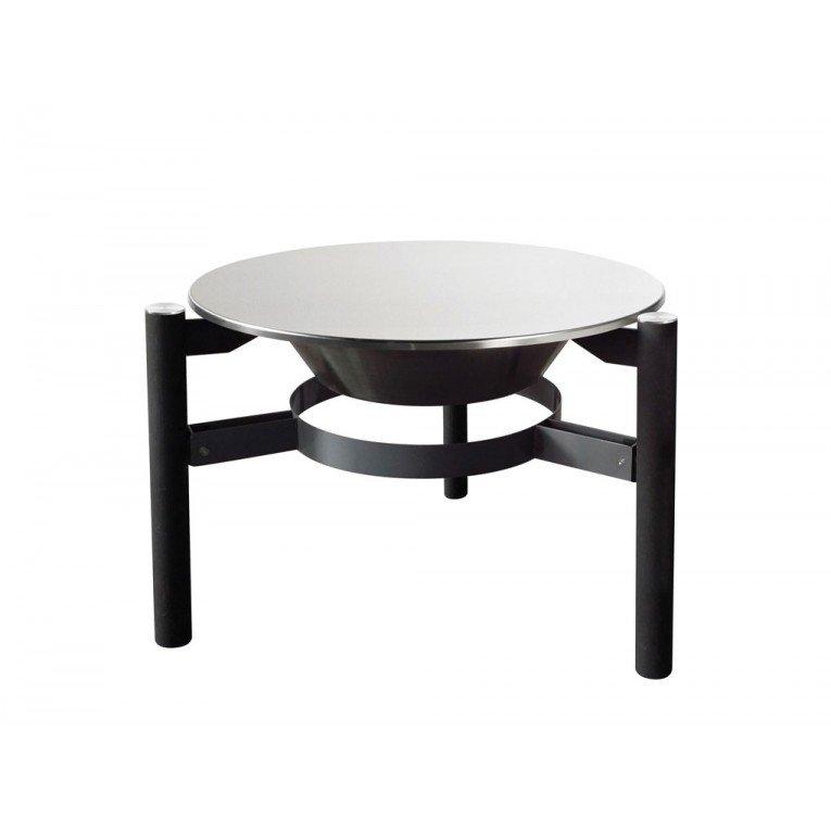 Brasero à bois, EFP5 de Purline, une table basse et un ...