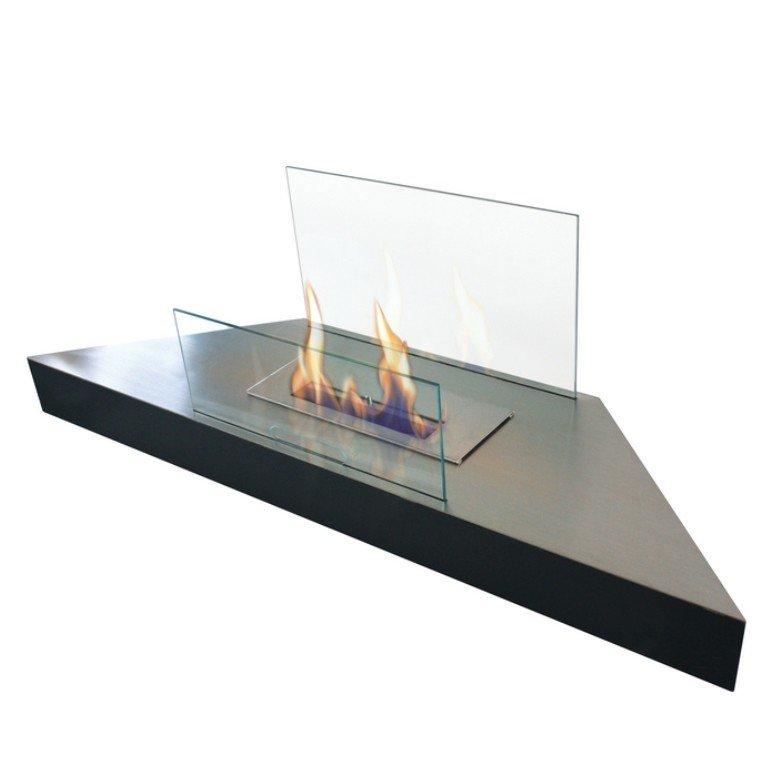 Prometheus Purline Bioethanol Corner, Bio Ethanol Corner Fireplace
