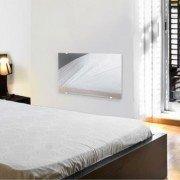 ZAFIR H1500 LUX - Electric convector mirror effect facade - ultra flat