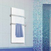 ZAFIR V600T LUX - Bathroom towel dryer with mirror effect