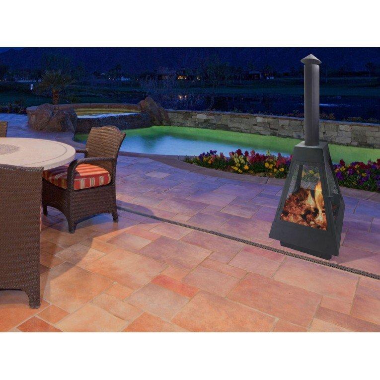 efp10 barbecue ext rieur avec chemin e d vacuation des. Black Bedroom Furniture Sets. Home Design Ideas