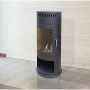 Bestfire, Poêle au bio éthanol pour appartements de Purline®, design classique du poêle a bois.