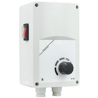 boitier de control mural IP 55 avec potentiomère