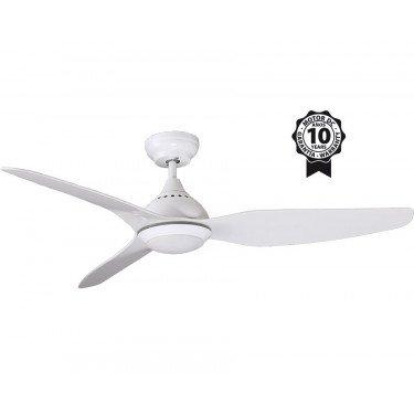 Tropic de KlassFan une série limitée ventilateurs de plafond DC design, plus compact, ultra puissant, avec plaque LED