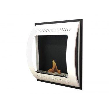 BestBio Design Black, profitez d'un feu de flamme réel, dans une cheminée ultra moderne !