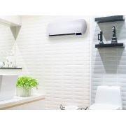 Chauffage céramique mural 2000 watts puissant avec télécommande pour salle de bain