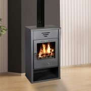 TRIUMPH Wood stove, 15 to 20 Kw, elegant and very powerful