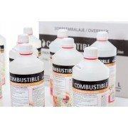 Bioéthanol Liq 12 Canela de PURLINE®, 12 bouteilles de 1 litres de bio éthanol avec Fragrances Cannelle Premium !