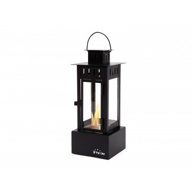 lanterne photophore bio ethanol noir