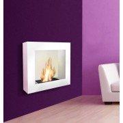 BestBio Weiß - genießen Sie echte Flammen mit einem ultra modernen Kamin!