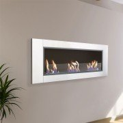 bio ethanol fireplace, large, triple burners 150 Cm!