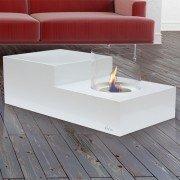 table de salon bioethanol design
