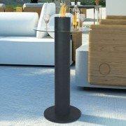MELIA une table de bar avec cheminée bio éthanol intégrée, magnifique !